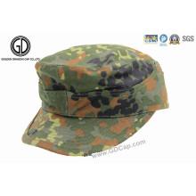 Novo Estilo Camuflagem Custom Army Flat Cap Hat Military Cap
