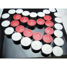Lilin warna tealight romantis