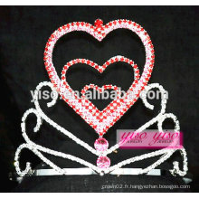 Superbe anniversaire en cristal collier de mariée peigne belle princesse tiare