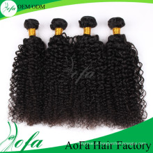 Hot-Selling 7A Alta Qualidade Kinky Curly Wave Virgin Cabelo Mongolian