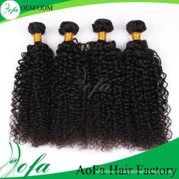 Горячая Продажа 7А высокое качество странный вьющиеся волна Виргинские монгольский волос