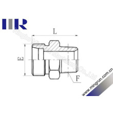 Mamelon hydraulique d'adaptateur de tube métrique / BSPT mâle (1CT -SP)