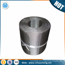 Reverse Dutch Woven mesh Screen Belt for plastic extruder