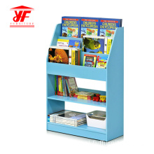 Kids MDF Blue Book Storage Cabinet