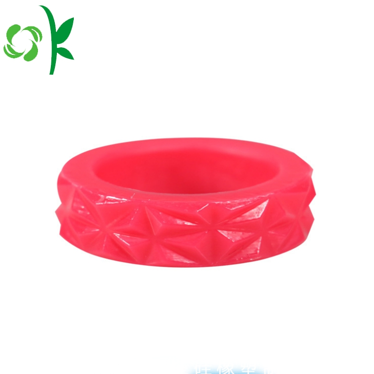 diamond silicone ring