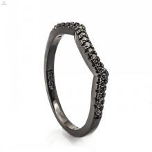 Bijoux noirs à la mode de bijoux de corps de meubles de magasin de bijoux de cuivre pour la femme