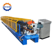 Steel Rain Pipe Roll Forming Machine