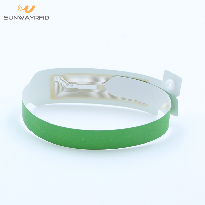 paper one time using rfid wristbands