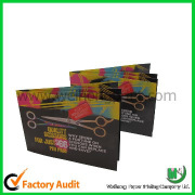 Full color paper catalogue printing service  Dongguan factory