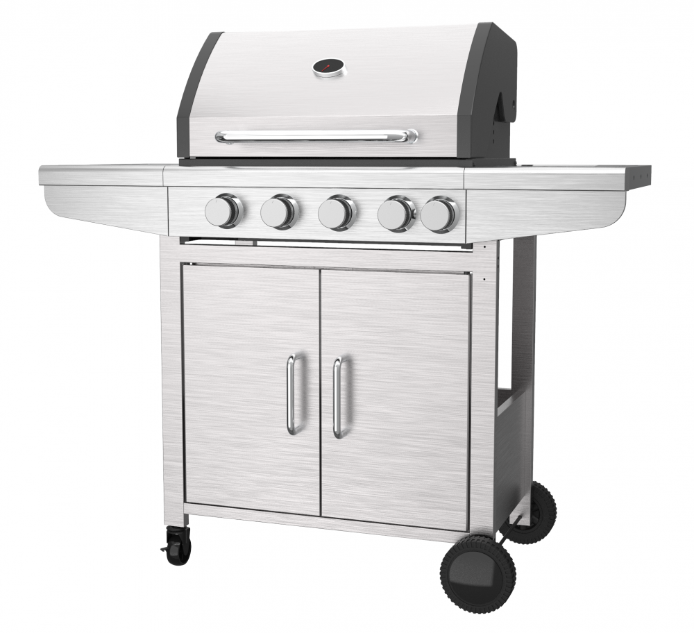 Two Side Shelves Gas Grill