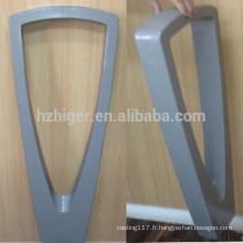 Support de vélo de revêtement de poudre d'aluminium de fonte