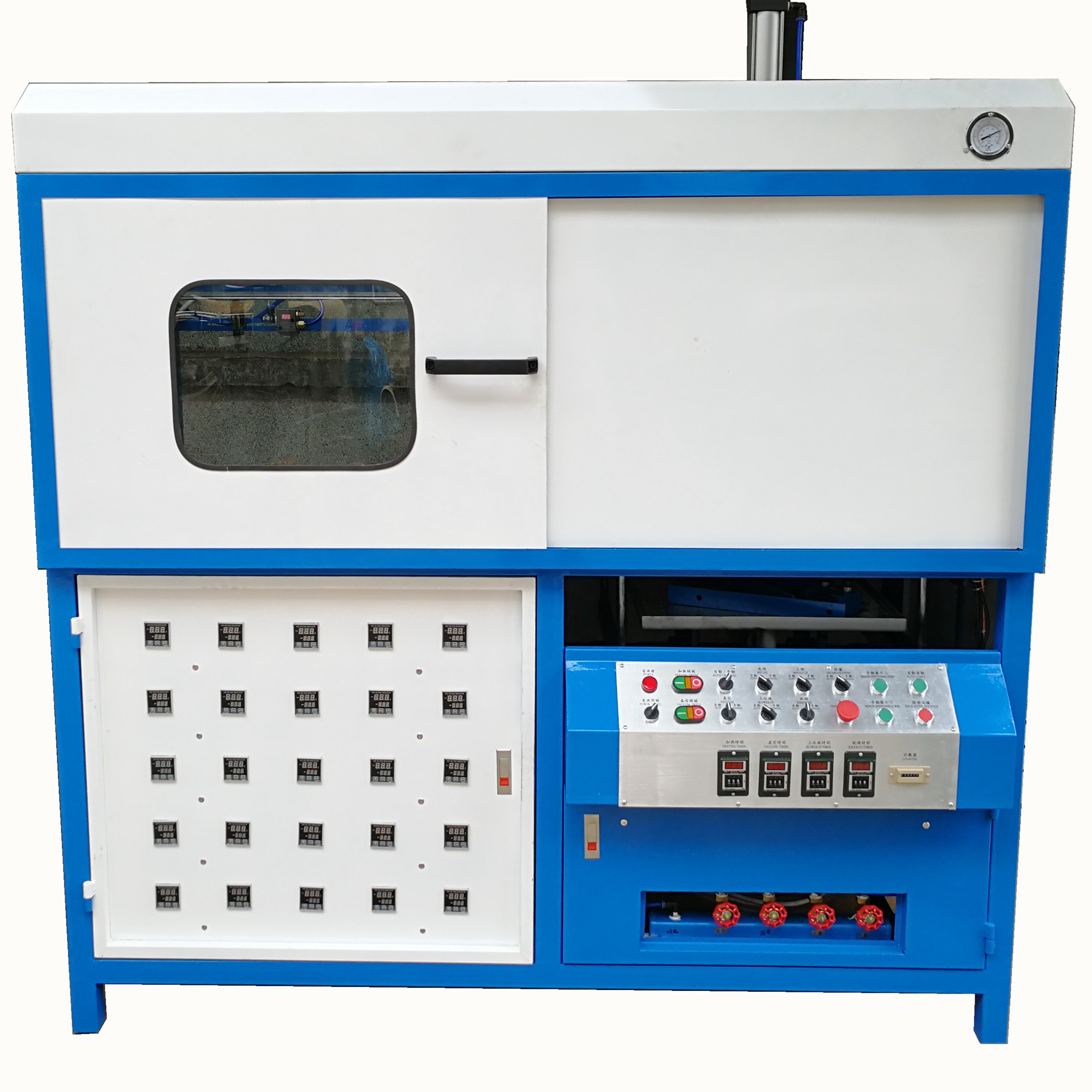 Semi Automatic Vacuum Forming Machine