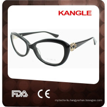 Acetate with metal decor eyeglass frames