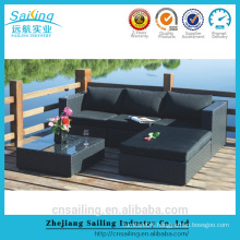 2014 Hot Sell All Weather outdoor rattan sofa set