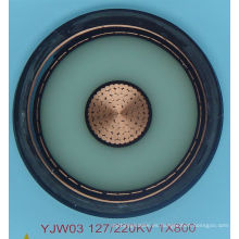 IEC STANDARD XLPE cable de alimentación de la chaqueta del PVC del insualted de la construcción