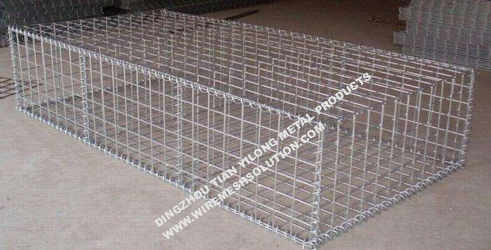 Spiral Joining Welding Wire Mesh Gabion