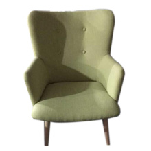 Light green single person sofa