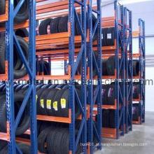 Armazém de armazenamento de armazenamento de pneus ajustável 4s Auto Store Armazém de pneu Prateleira de pneu