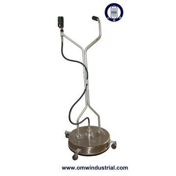 21inch Stainless Steel Surface Cleaner with Wheels