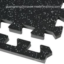 Gym Wear Resistant EPDM Gym Tile Mat