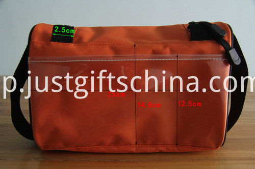 Promotional Embroidered Toiletry Bags W Metal Hook For Hanging