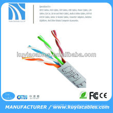 beige rj45 ethernet cat5e utp patch cord cable 1000FT