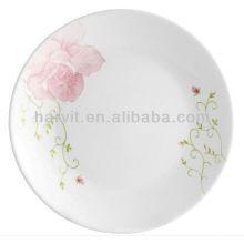 Малайзия Новые товары Недорогие белые обеденные блюда и наборы тарелок для ресторана с домашним декором