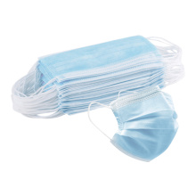 Face Mask Disposable Wholesale Adult Blue 3 Ply Face Mask