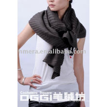 Последний дизайн морщин волны 100% кашемир шарф