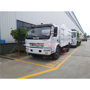 Road sweeper truck mounted road sweeping machine