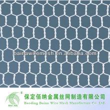 Malla de alambre hexagonal de la trampa de la langosta revestida del PVC para la venta