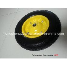 PU-Formrad mit Stahlfelge