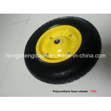 PU Form Wheel with Steel Rim