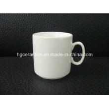 Tasse en porcelaine en porcelaine à 10 oz
