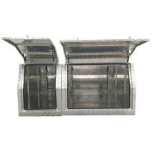 caja de herramientas de dosel de aluminio