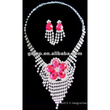 Dernier ensemble de bijoux de mariée (GWJ12-483)