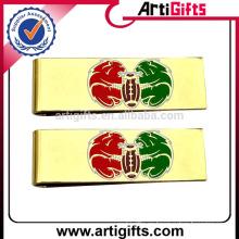Clip de dinero de piezas de metal de suministro de fábrica de Artigifts