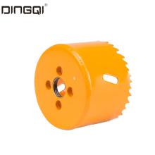 Scie cloche en métal bi-étiquette de marque privée DingQi 19 mm