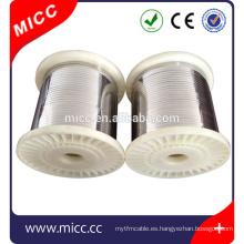 Elemento calefactor de alambre plano NICR8020 Resistencia calefactor de alambre