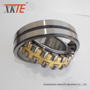Tembaga Cage Spherical Roller Bearing 22215 CA / W33