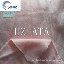 100% tecido de algodão um lado tecido de flanela pêssego para pijamas