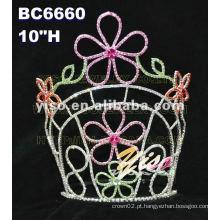 Novos estilos moda flor tiara