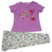 Summer Baby Girl Kids Suit for Children′s Apparel