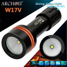 Archon W17V luz de fotografia subaquática 860 Lumens luz de mergulho vídeo