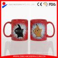 Wholesale Custom Ceramic Color Changing Mug/Blank Magic Mug for Sublimation