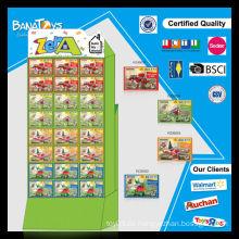 2015 Lustige Kinder Dinosaurier Block Spielzeug Set mit pdq Box