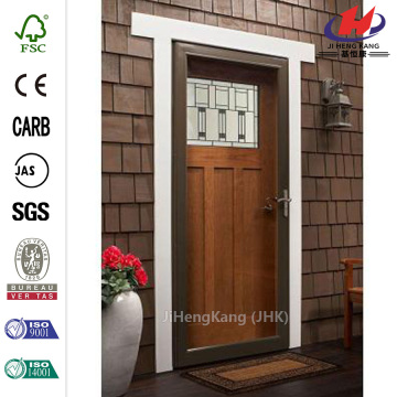 White Fullview Easy Install Storm Door