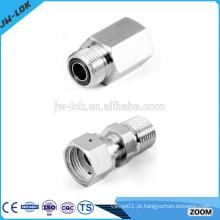 Conexões de tubos de compressão de aço inoxidável Bsp