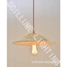 1 light rustic Edison pendant lamp