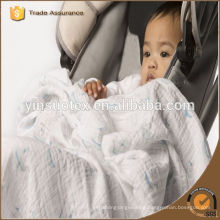 series product for muslin 100% organic cotton muslin for gift to newborn baby